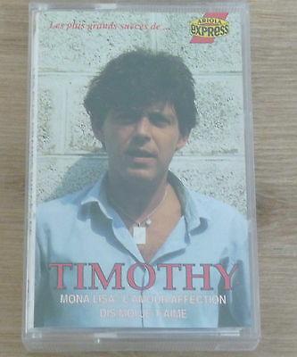 Cassette Tape K7 - TIMOTHY - Ariola Express - 490.555