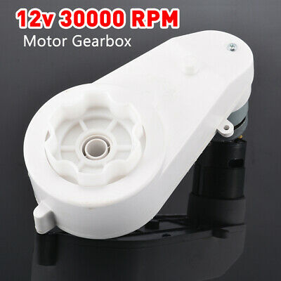 12V 30000 RPM Electric Motor GearBox for Kids Ride On Bike/Car Toys Spare Parts