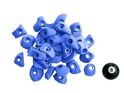 Atxarte Bolt-On Feet Climbing Holds, Blue