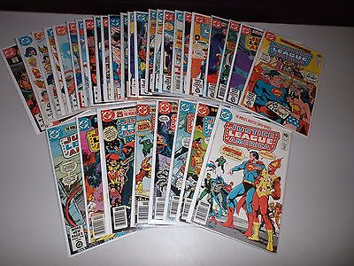 Justice League of America #179-210 (Complete lot of 32)  183 184 185 Darkseid