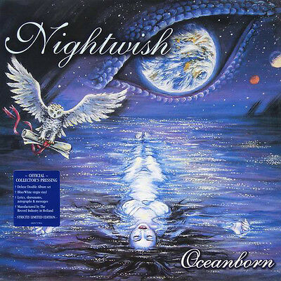 Nightwish - Oceanborn - Deluxe Double Album  Blue/white  Virgin Vinyl - Rare Lp