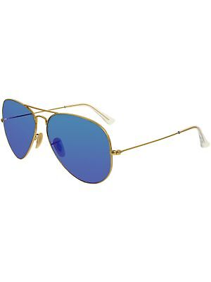 a168127bc4 RAY-BAN MEN S MIRRORED Aviator RB3025-112 17-62 Blue Sunglasses ...