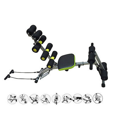 Wonder Total Body Smart Exercise System Core Ab Trainer Crunch Workout Gym Bench