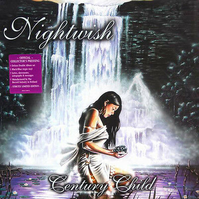 Nightwish - Century Child - Ltd. Deluxe Double Album  Black/blue Vinyl - Rare Lp