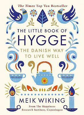 The Little Book of Hygge by Meik Wiking Hardcover Book