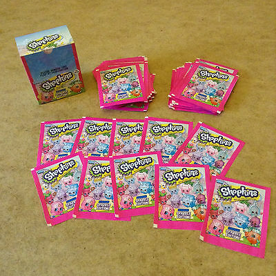 Topps Shopkins Sticker Collection Sparkle Edition New Super Sparkly Stickers