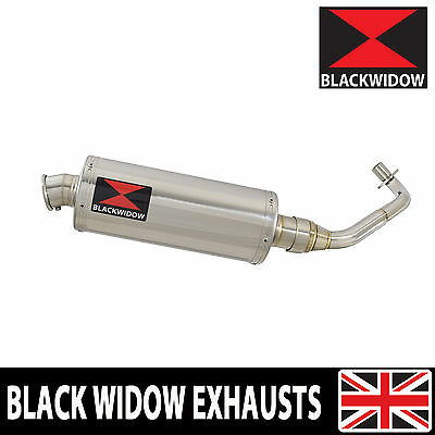 Piaggio Liberty Sport 125 4T 07 08 Stainless Steel Exhaust System Silencer 300SS