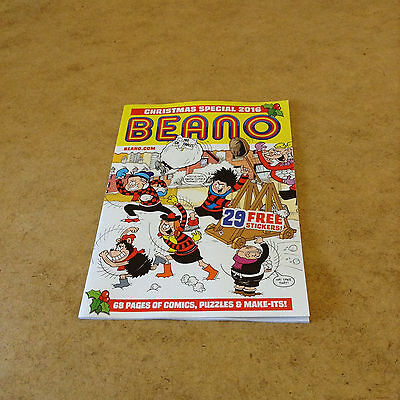 Beano Christmas 2016 Special + 29 Stickers 68-pages of Comics Puzzles Make-Its