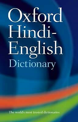 The Oxford Hindi-English Dictionary by R.s. Mcgregor (English) Paperback Book Fr