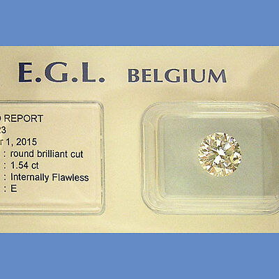 Top Diamant  -  1.54 Ct River ( E )  If Vgvg Egl