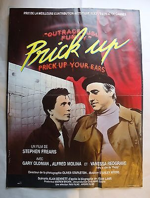 STEPHEN FREARS/PRICK UP YOUR EARS/belgian poster