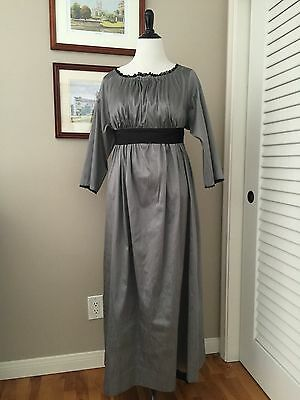 Jane Austen Regency Gown by Iblamejanetoo - U.S. size 14-16
