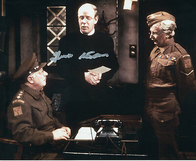 Frank Williams In Person Signed Photo - A820 - Dad's Army