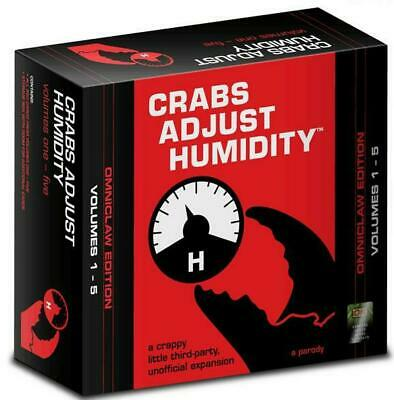 Vampire Squid Cards Crabs Adjust Humidity Omniclaw Edition