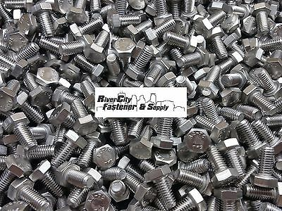 (50) M8-1.25x16 Stainless Steel Hex Head Cap Screws / Bolts 8mm x 16mm