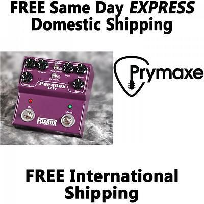 Foxrox Electronics Paradox TZF2 Flanger Brand New Free Domestic Express Shipping