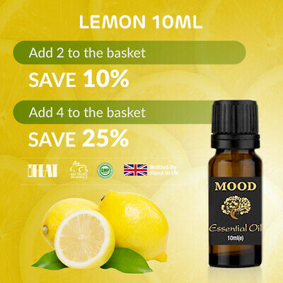 10ml Lemon Essential Oil Fruit Natural Aromatherapy Essential Oils Diffuser