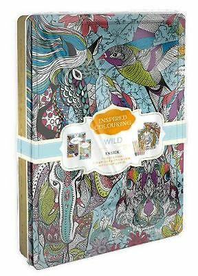 Wild Inspired Colouring Tin by Parragon Books Ltd