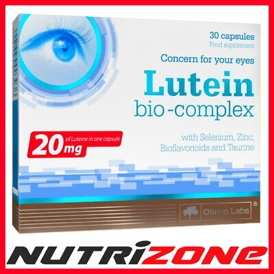 OLIMP Lutein Bio Complex Eyesight Vision Support Healthy Eyes Luteina Vit C