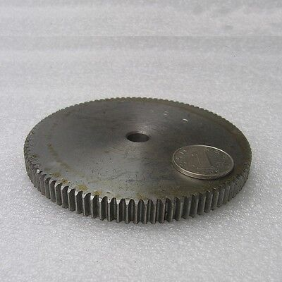 1 Mod 98T Spur Gear Steel Motor Pinion Gear Thickness 10mm Outer Dia 100mm x1Pcs