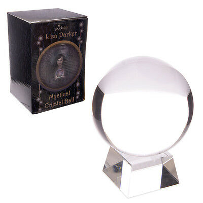 Crystal Ball With Glass Stand Gift Box 10cm