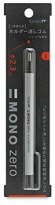 Tombow MONO Zero Refillable Eraser. Round or Rectangle.