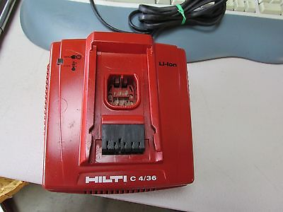 Hilti C 4/36 CHARGER for Cordless Drills Pre owned  (41)