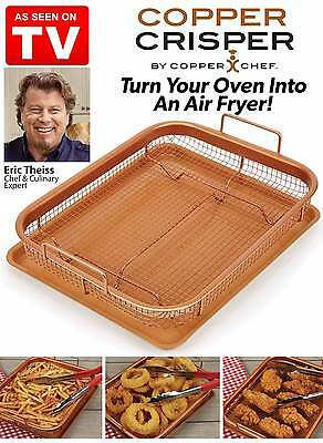 Copper Crisper By Copper Chef As Seen On Tv New Free Ship