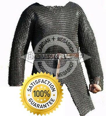 Chainmail Shirt Armour Large Full Sleeve