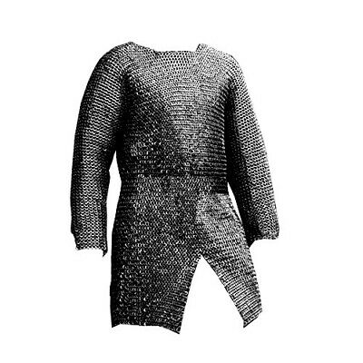 CHAINMAIL SHIRT ARMOUR LARGE FULL SLEEVE a1