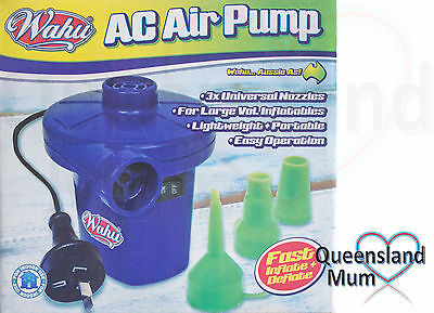 Wahu AC Electric Air Pump BMA674 - Fast Inflate and Deflate