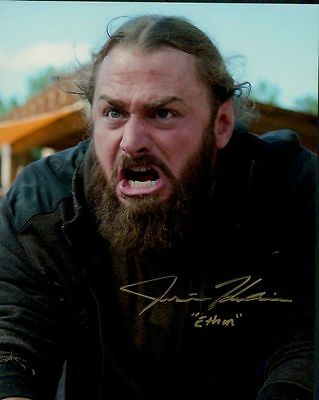 Justin Kucsulain In Person Signed Photo - A876 - Ethan - The Walking Dead