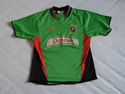 Glentoran Fc Irish League Northern Ireland Vintage Football Home Shirt Mens S