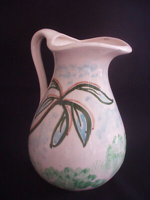 Care Pottery, Devon -Large Pottery Jug -Colourful & Useful
