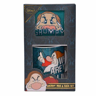 Disney Grumpy Mug and Sock Gift Set