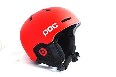 POC Skihelm Fornix Communication Beats, Bohrium Red, Größe XS-S 51-54 cm *NEU*