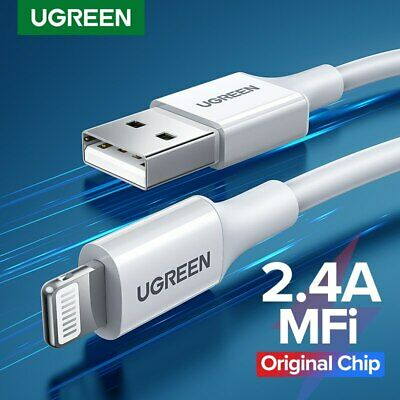 Ugreen MFi Certified Apple Lightning Data Sync Cable Charger Fr iPhone iPad iPod