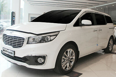 Autoclover Chrome weather shields 4p for Dec/2014 ~ 2016 KIA All New Carnival