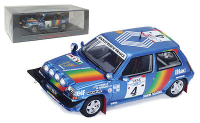 Spark S3860 Renault 5 GT Turbo 3rd Ivory Coast Rally 1990 - A Oreille 1/43 Scale