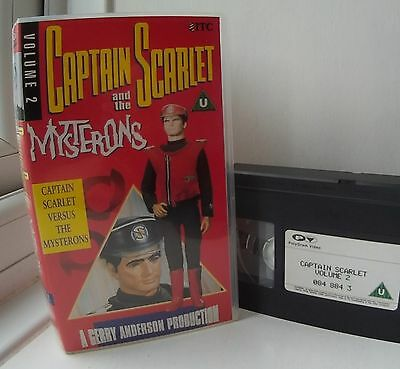Captain Scarlet and the Mysterons vol. 2 - versus the Mysterons VHS Video