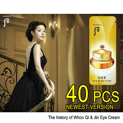 The history of Whoo Gongjinhyang Qi & Jin Eye Cream 40pcs  Korean Cosmetics