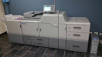 RICOH SAVIN LANIER Pro C651EX - Pro C651S with Finisher and LCT and Fiery E-41A