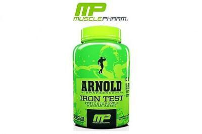 Musclepharm Arnold Series Iron Test 90 Capsules Testosterone Increase Booster Mp