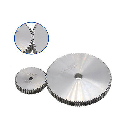 1 Mod 78T Spur Gear Steel Motor Pinion Gear Thickness 10mm Outer Dia 80mm x 1Pcs