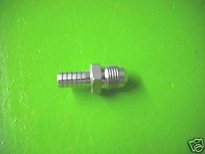 Stainless Flare to Barb Adapter 3/8MF x 3/8 Barb 12981
