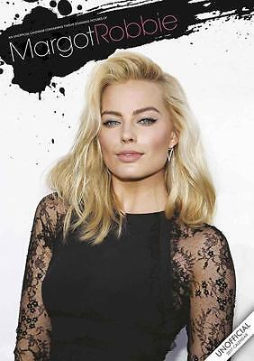 Margot Robbie 2017 Large Wall Poster Calendar New + Free Uk Postage By Red Star