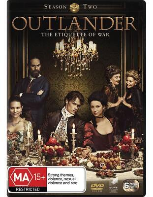 Outlander: Season 2 - DVD Region 4 Free Shipping!
