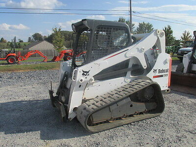 2013 Bobcat T650 Tracked Skid Steer Loader!