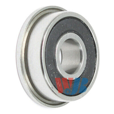 Miniature Ball Flanged Bearing 5x13x4mm WJB F695-2RS with 2 Rubber Seals