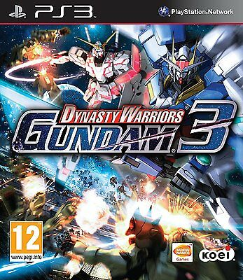Dynasty Warriors Gundam 3 Ps3 Brand New And Sealed
